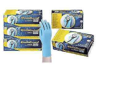 Kimberly-Clark Professional 57373 Kleenguard G10 Nitrile Gloves, Large, Blue