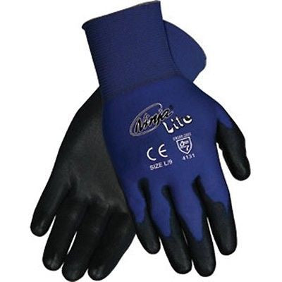 (12 Pairs) Memphis Ninja Lite Coated Work Gloves