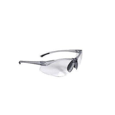 BiFocal C2-120 Clear Shooting Glasses Safety Glasses Reading Glasses +2.00