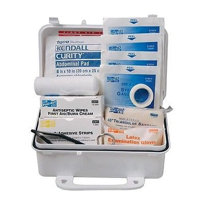 57-Piece 10-Person Weatherproof ANSI First Aid Kit- 6060C
