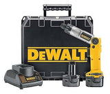 "DEWALT 1/4"" 7.2-V Cordless Electric Two-Position Heavy Duty Screwdriver Kit NEW"