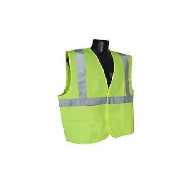 CLASS 2  SAFETY VEST Solid Lime silver strip Size 2XL NEW IN BAG! LOWEST PRICE!