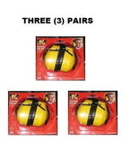 THREE (3) Pairs LYNX FOLDING EAR MUFFS EARMUFFS NRR 25 NEW IN BOX YELLOW !