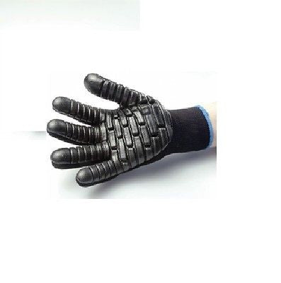 Blackmaxx Anti-Vibration Gloves Size, L,XL, NEW BLACK LOW PRICE! Per Pair