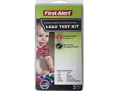 First Alert Lead Test Kit - Easy to Use - 4 Tests Included