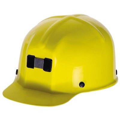MSA 91585  Comfo-Cap Miner's Hat YELLOW- Safety Works NEW with BOX! LOW PRICE!