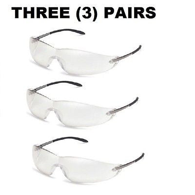 3013710 Wildcat clear anti-fog Motorcycle Safety Riding goggles NEW PACK OF 3