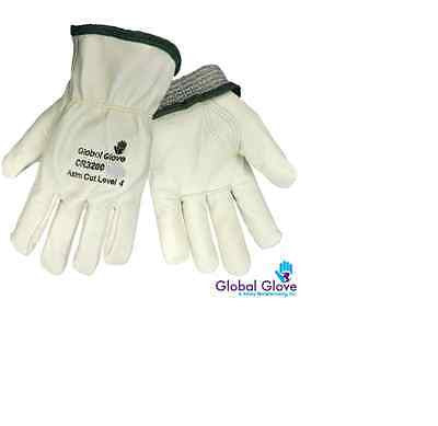 12 PAIRS PREMIUM COW GRAIN DRIVERS GLOVES KEYSTONE THUMB ITEM 3200 M,2XL,3XL NEW