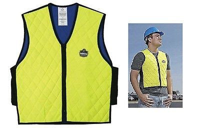 Chill-Its Evaporative Cooling Vest Hi Vis LIME - 6665