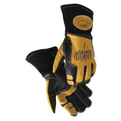 Top Grain Leather Caiman Large Mig/Tig Welding Glove Flexible LOW PRICE NEW 1832