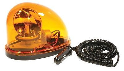 Grote 76033 12V PORTABLE EMERGENCY ROTATING AMBER Revolving yellow light.. NIB