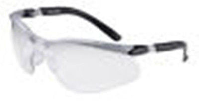 3M BX Reader Safety Eyewear Eyeglasses Silver/Black Frame, Clear Anti-Fog Lens!