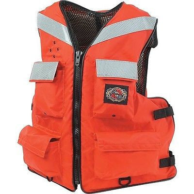 Stearns® Versatile™ Life Vests L,XL,2XL I465ORG ORANGE Coast Guard Approved NEW!