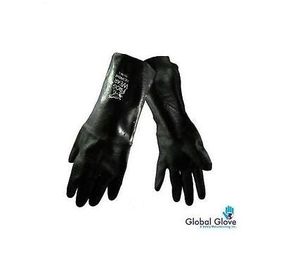 Black PAIR FROG WEAR NEOPRENE GLOVES NEOPRENE 9912 SIZE LARGE Lab Safety