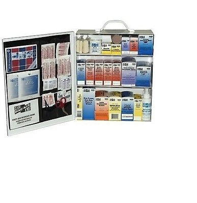 3 Shelf First Aid Station Standard Industrial PAC-KIT - 6155