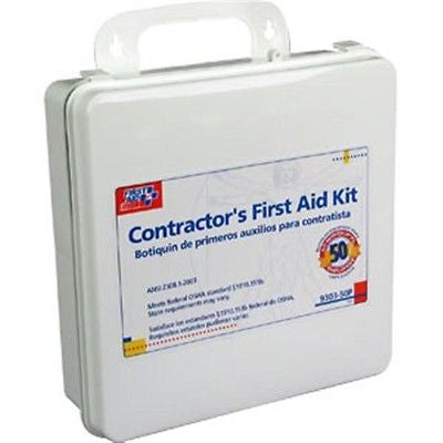 237-Piece, 50-Person Contractor First Aid Kit -930350P