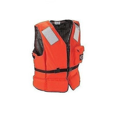 Stearns Deck Hand II Heavy-duty Flotation Vests USCG Approved Type III  NEW!!