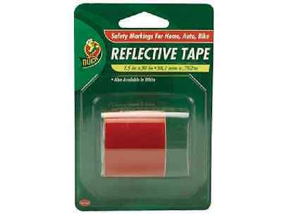 Duck Brand Automotive Reflective Tape 896384 1.5-Inch x 30-Inch Single Roll RED