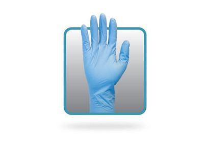 The Safety Zone Large Powder Free Disposable Nitrile Gloves Heavy Duty 2 Pairs