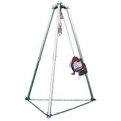 Miller 7' Aluminum Safety Tripod and Winch,MR50SB  Manhole Confined Space SRL