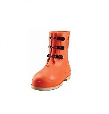 Tingley HazProof Steel Toe Boots, Orange (Size 7-13)