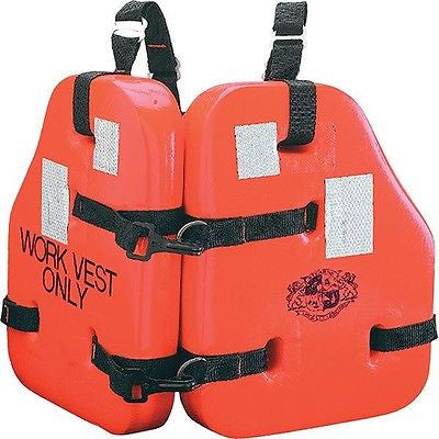 Stearns® Force™ II Life Vest I223 - Universal Size for Adult - Foam - Orange NEW