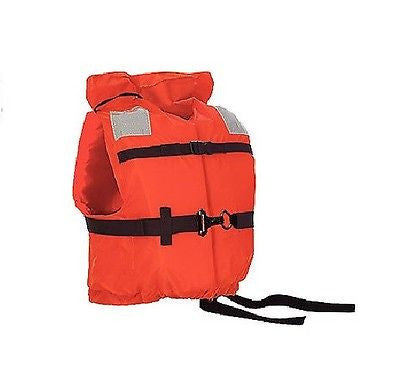 Stearns Life Vest I120 Ship Mate II -For Boating-Fishing-Universal-Orange NEW