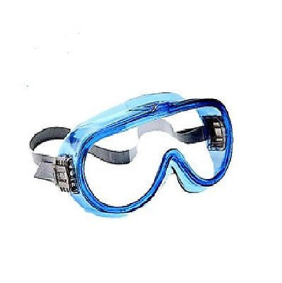 ALLSAFE Safety SKI GOGGLES 3005069 Blue Frame Clear NICE NEW! LOW PRICE