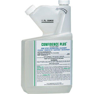 Confidence Plus™ Concentrated Respirator Cleaner & Disinfectant 32 ounces NEW!