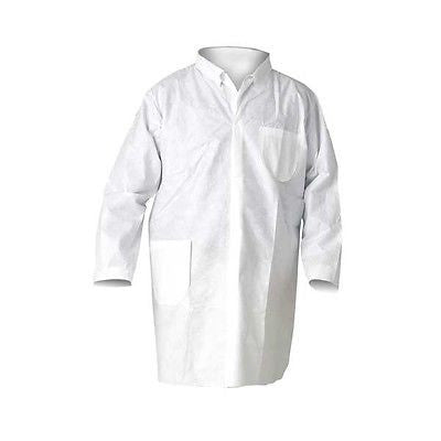 Dr. WHO Lab Coat Unisex Adult Costume disposable paper lab coat one size fits all