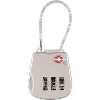 Pelican PeliLock 1506 TSA Combination Laptop adlock Luggage Cable Lock NEW!