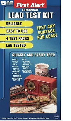 LeadCheck Instant Lead Testing Kit 8 Swabs PB-2M8I NEW