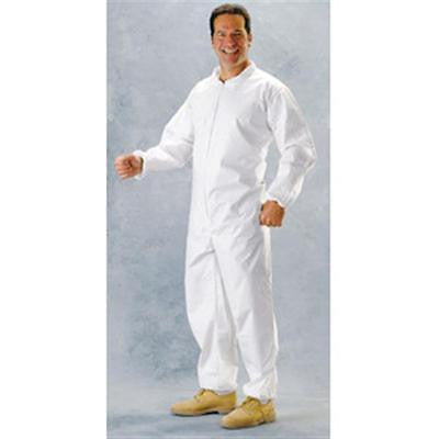 Collared Disposable Coveralls 3XL SMS White KOSTA TYVEK 3XLARGE NEW