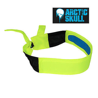 RADIANS RCS110 COOLING HEADBAND  High Visibility Yellow Cooling Head Band (Each)