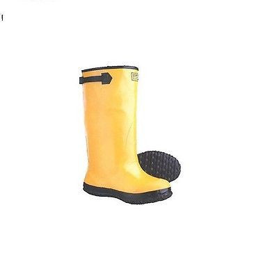 YELLOW RAIN SLUSH BOOTS SZ 11 NEW IN BOX