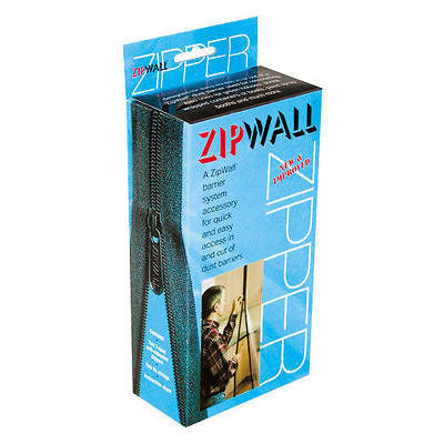 Zipwall Standard Drywall Dust Barrier Zipper Set (pack of 2) AZ2 *NEW* ZIP WALL