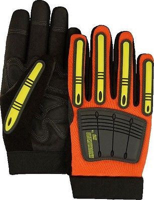 ARMORSKIN/OILFIELD GLOVES 21242HO-L METACARPAL/MECHANICS/IMPACT DRILLING NEW