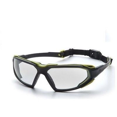 SBL5010DT Pyramex Highlander blk/yellow Safety Glasses NEW in BAG!