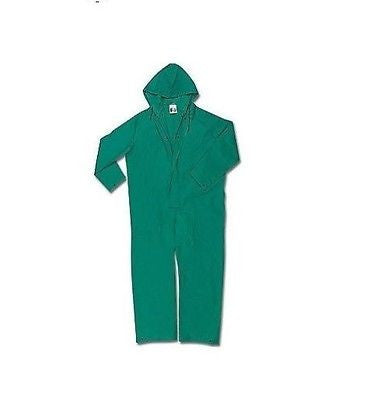 GREEN ACID SUIT COVERALL 4XL XXXXL NEW NIB GREEN PVC 3981 NEW IN BAG!