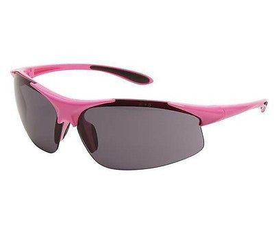 Woman's ERB Ella PINK Safety Shooting Glasses SMOKE LENS Pink Frame NEW! 18619