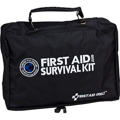 168-Piece First Aid Survival Trauma Kit- FA462F