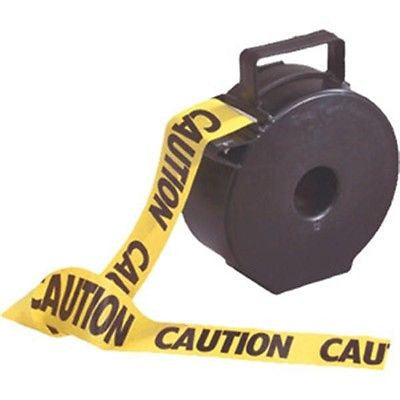 1000 Foot CAUTION Barricade Tape Dispenser NEW! LOW PRICE! Item TT1010TS