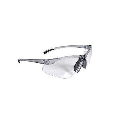 BiFocal C2-110 Clear Shooting Glasses Safety Glasses Reading Glasses +1.00