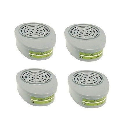 BOX OF (4) FOUR 815359MSA Advantage® Respirator Cartridges Multigas GME NEW