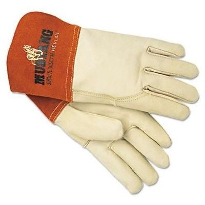 (12 Pairs) Mustang™ MIG/TIG Leather Welding Gloves
