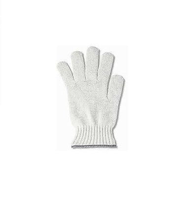 12 PAIRS ANSELL HEAVYWEIGHT STRING KNIT MENS WHITE POLY/COTTON GLOVE ITEM 76-400