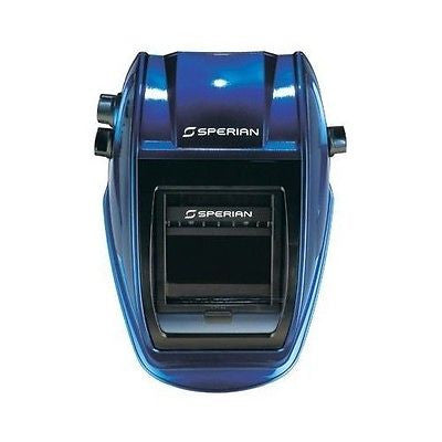 Sperian P-350 Auto-Darkening Welding Helmet METALLIC BLUE K3501 Narrow Design