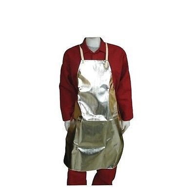 Stanco Aluminized Rayon Fabric Aprons 24x42 All solid construction  NEW!