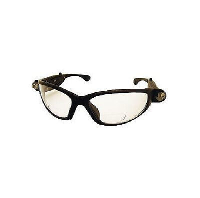 2.0X LED Inspector Readers Safety Glasses SAS5420-20 BRAND NEW!