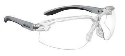 BOLLE SAFETY 40032 Axis Safety Glasses Clear Antifog AF Scratch Resistant NEW